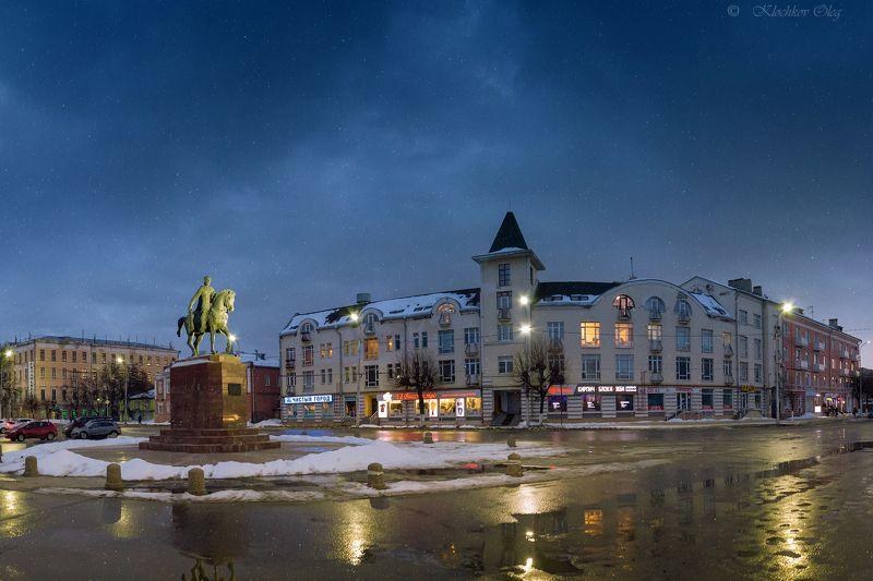 рязань Вечер на Соборной площади.photo preview