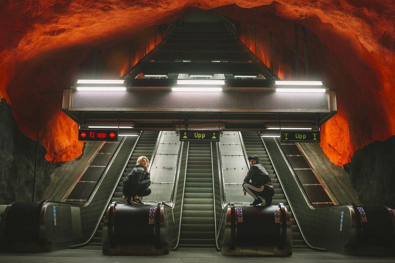 stockholm, subway, travel, Stockholm Subwayphoto preview