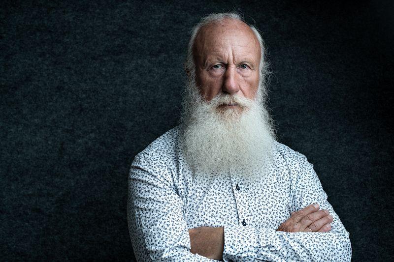 борода, мужчина, портрет, седой,  Иоаннphoto preview
