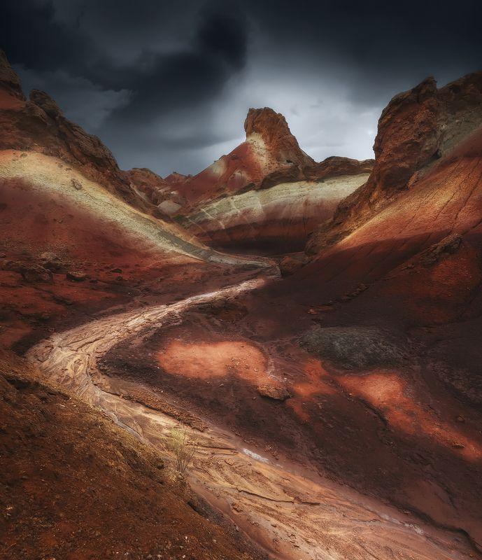 landscape mountain Colorful \