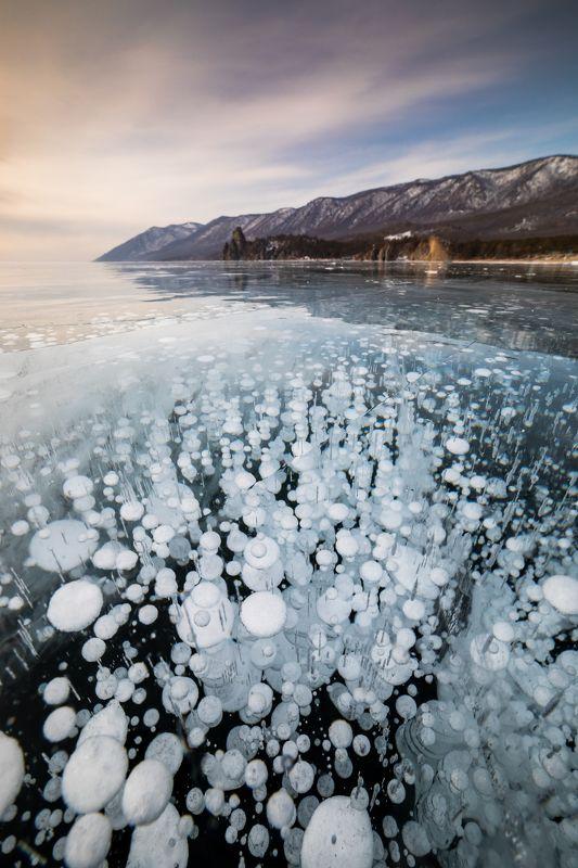 байкал, лед, зима Bubblesphoto preview