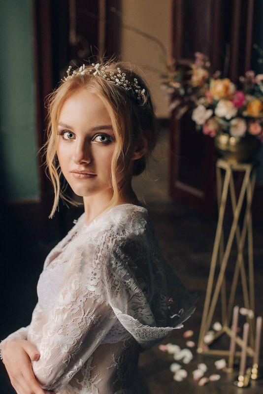 свадьба портрет девушка / Утро невесты /photo preview