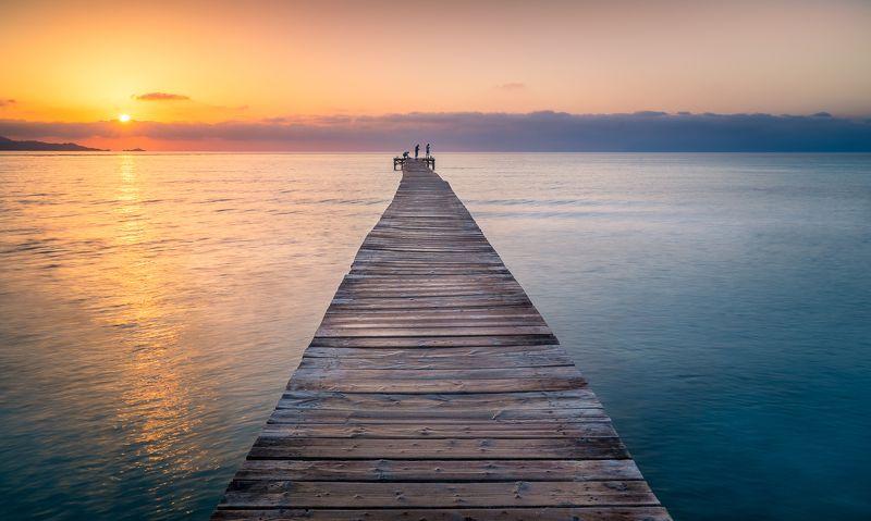 sunrise, sea HARMONYphoto preview