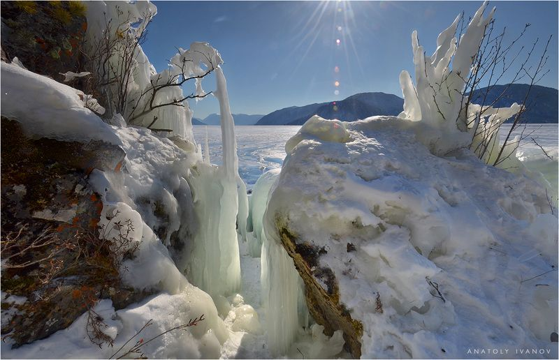 Ледяное царство Телецкого озераphoto preview