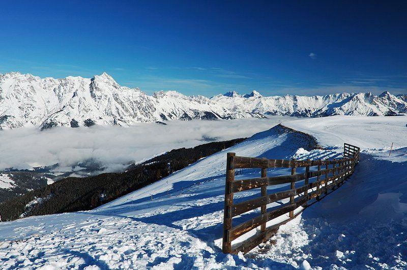 альпы, австрия Чудесный день в Альпахphoto preview