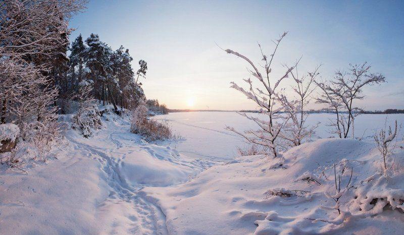 природа, пейзаж, панорама, зима * * *photo preview