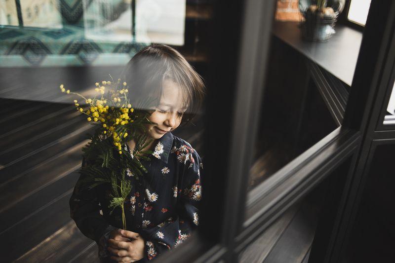 весна девочка мимоза студия веснаphoto preview