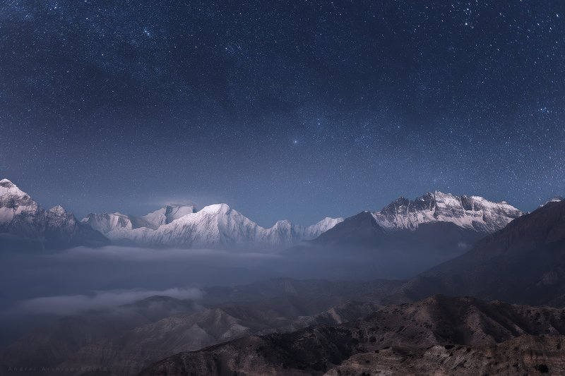 Ночь над Гималаями.photo preview