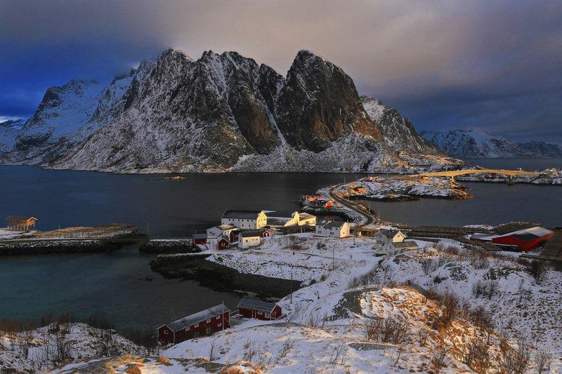 travel, landscape, norway, lofoten, Норвегия, путешествие Утренний светphoto preview