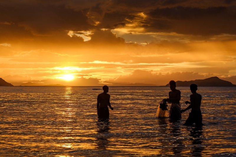 Fishermen on Flores. Indonesiaphoto preview