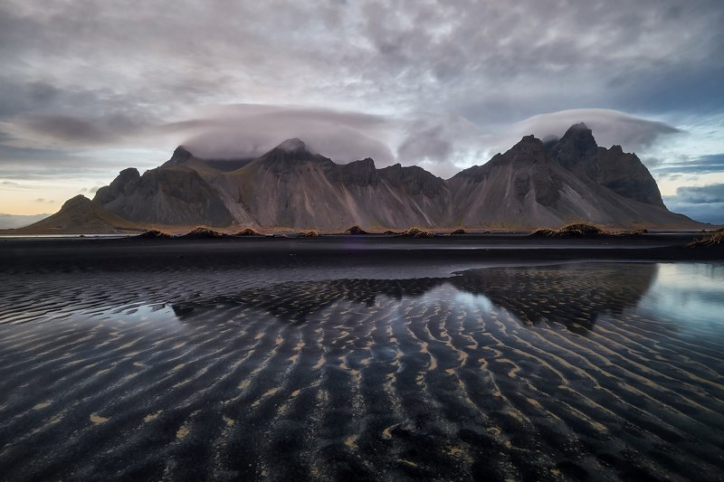 iceland,water,iceberg,ice,long,waves,coastal,cliffs,vestrahorn,mountains,stokksnes Iceland2photo preview
