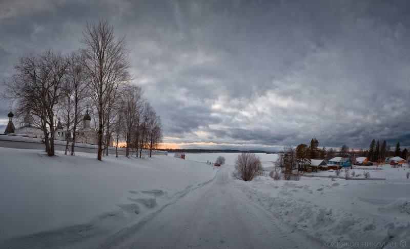 зима в Ферапонтово...photo preview