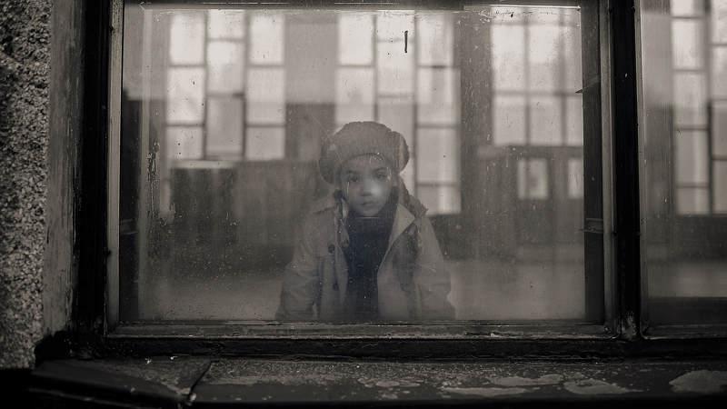 детский портрет, портрет, жанр Окноphoto preview