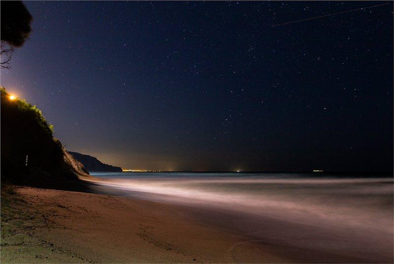 море, небо, звёзды Ночной рандеву с морем и звёздамиphoto preview
