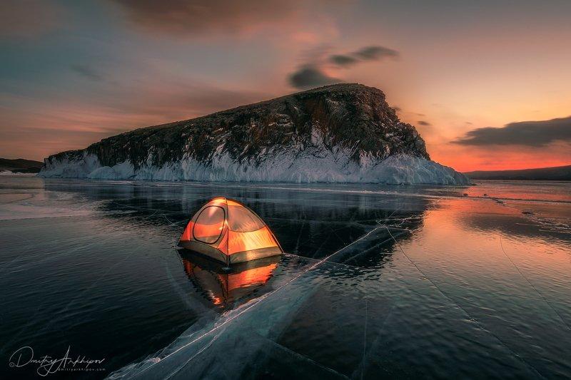 Ночь на Байкалеphoto preview
