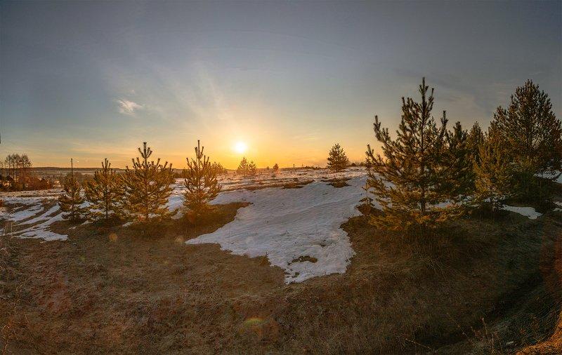 лежнево, иваново, рассвет, утро Утро в полеphoto preview