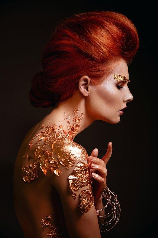 портрет, рыжая, креатив Natashaphoto preview