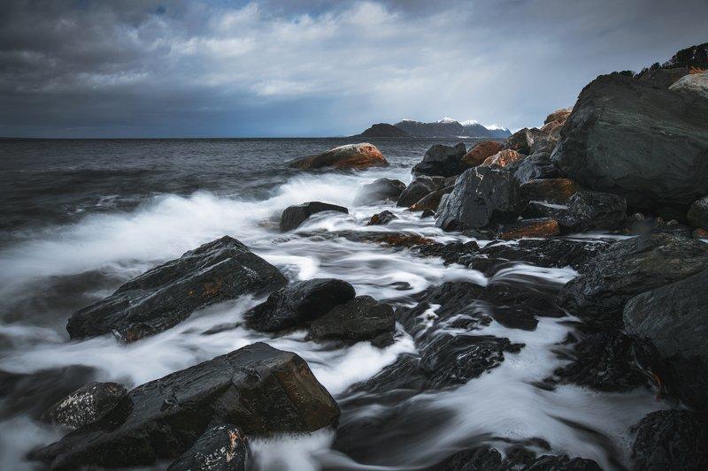 norway,sea,windy,travel,longexposure,scandinavia windy Hellandphoto preview