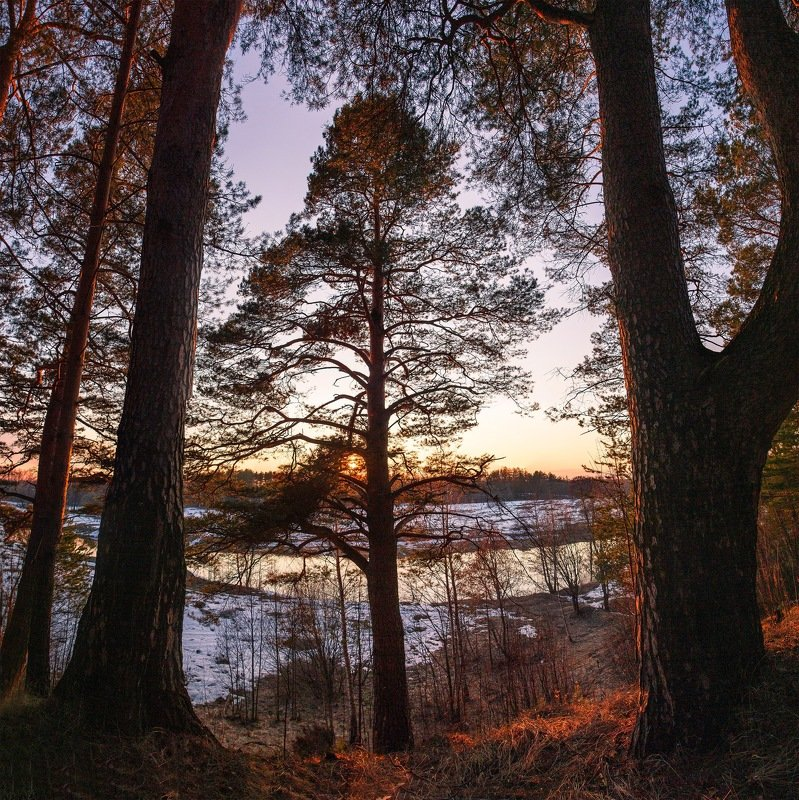 россия, закат, sunset, ivanovo Обрывphoto preview