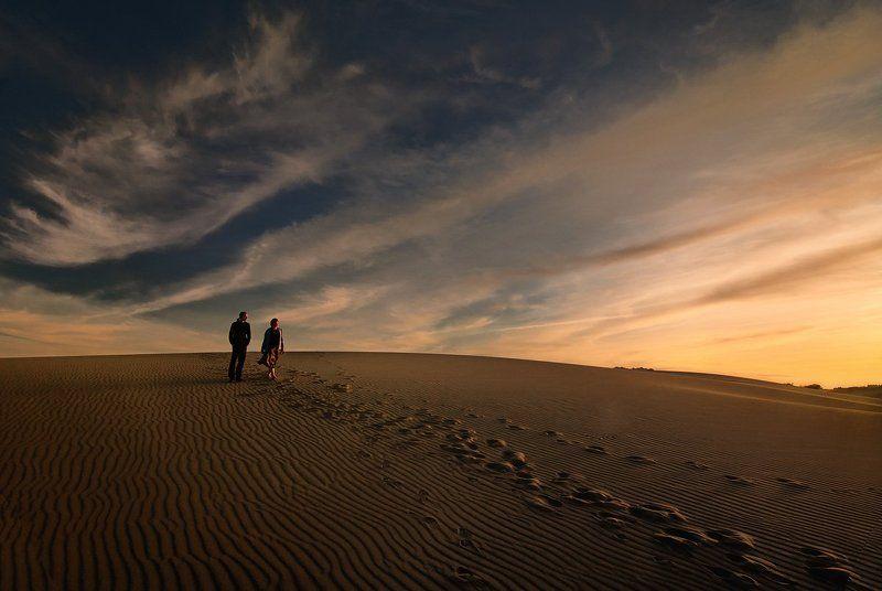 дюны Вечер в дюнахphoto preview
