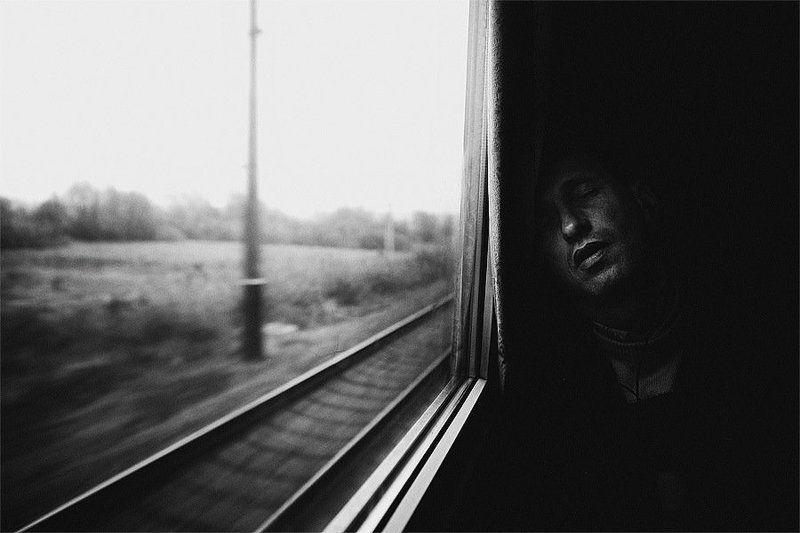 дорога, поезд, сон Дорогаphoto preview