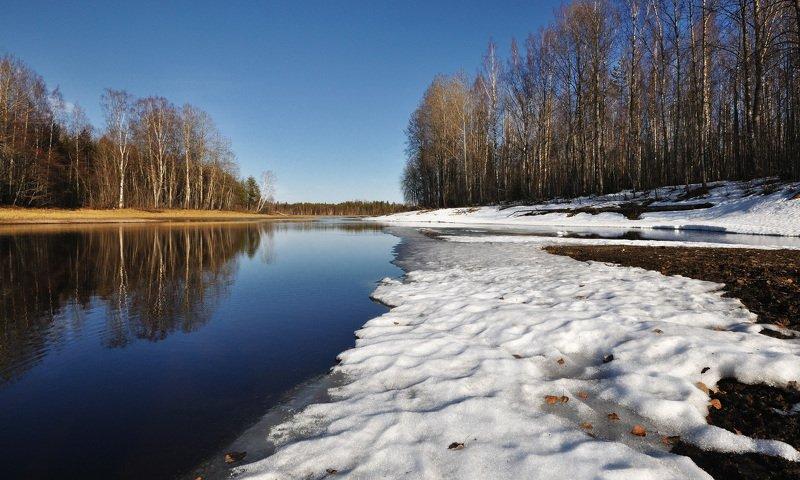 Апрель. Речка Барановка.photo preview