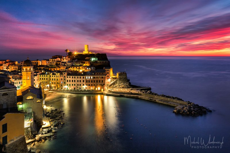 Vernazza sunsetphoto preview