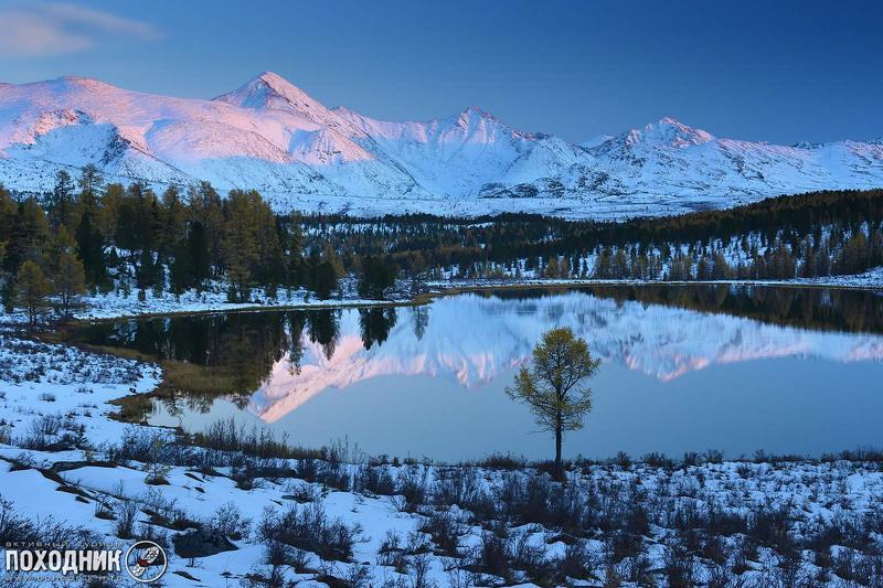 алтай, осень, пейзаж, фото-тур Вечер на озере Киделюphoto preview