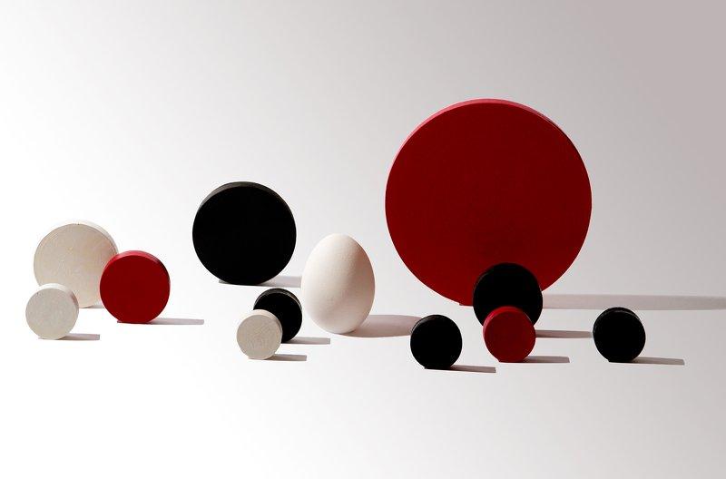 яйцо, круги, геометрия, креатив roll overphoto preview