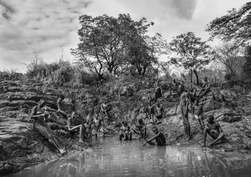 африка, эфиопия На речкеphoto preview