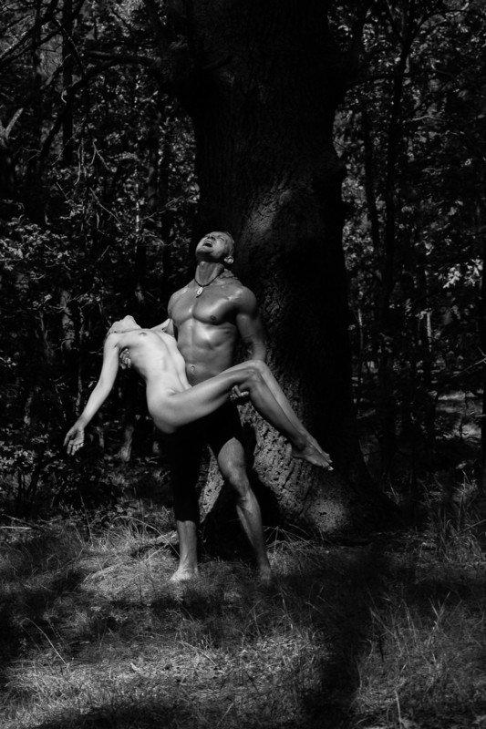girl, woman, арт, женщина, nude, ню, девушка, модель, model, man, человек Дубовая Годда прошла | Oak\'s Goddes has passedphoto preview