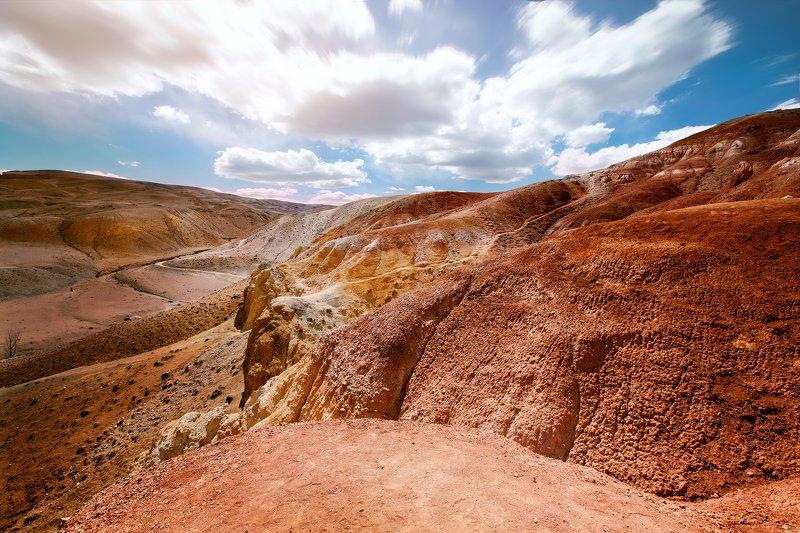 #пейзаж, #природа, #алтай, #горы, #марс, #небо, #nature, #mountain, #light Марсианский пейзажphoto preview