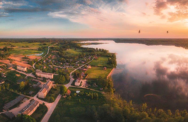 landscape,summer,sunset,drone,lake Nirzaphoto preview