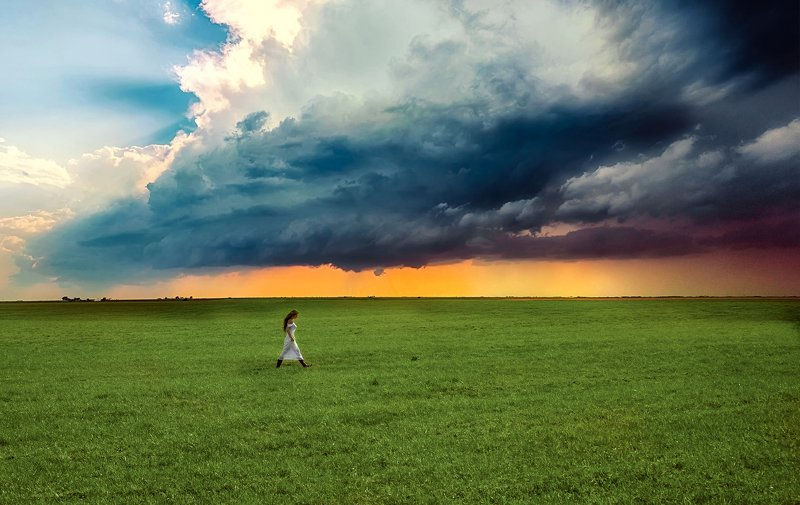 буря, гроза ,тучи перед бурейphoto preview