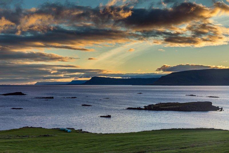 #landscape, #sanset, #sea, #travel, #ocean Закат у океанаphoto preview