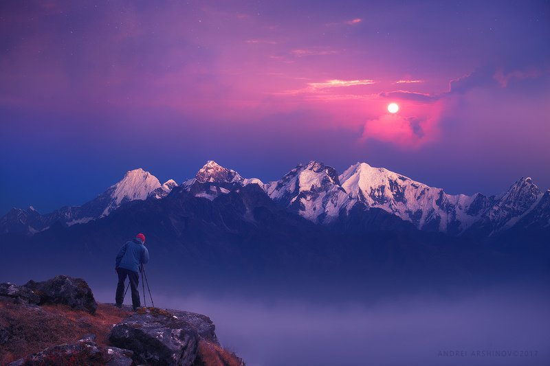 nepal, hymallaya, sunrise, Фотографphoto preview