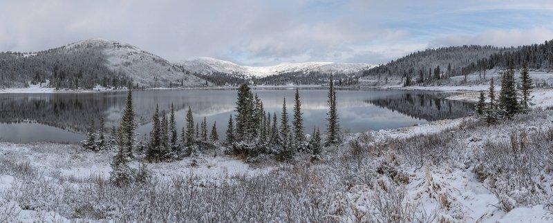 природный парк ергаки, озеро, западный саян, ойское, панорама Ойскоеphoto preview