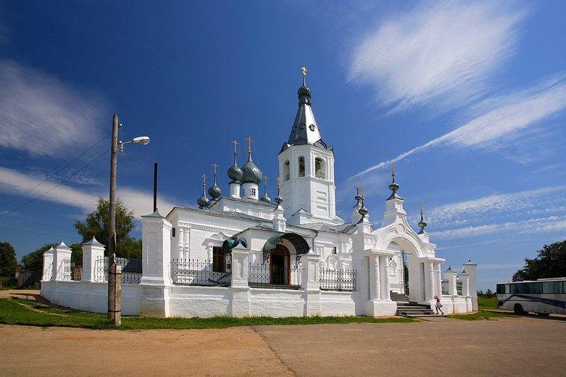 храм, святителя, иоанна, златоуста., село, годеново ***photo preview