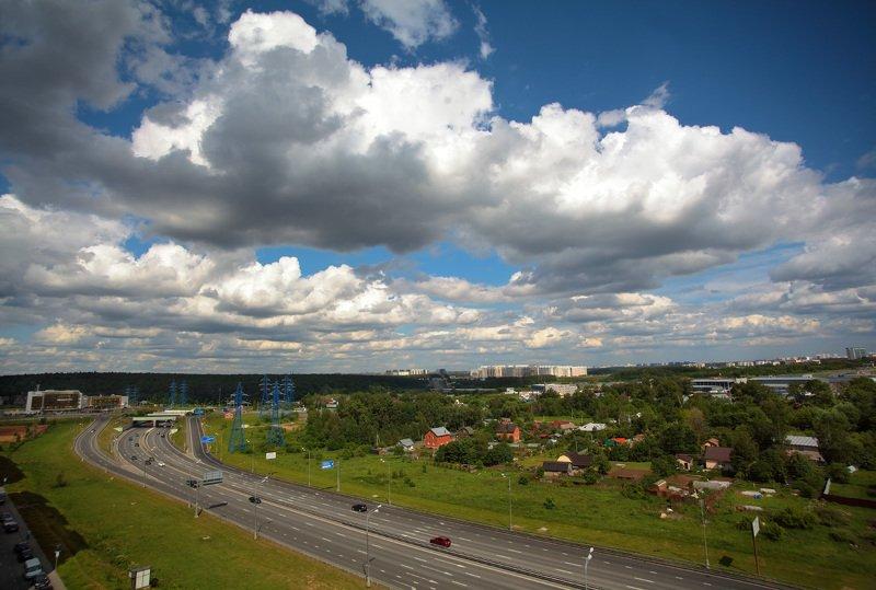 Облака во Внуковоphoto preview