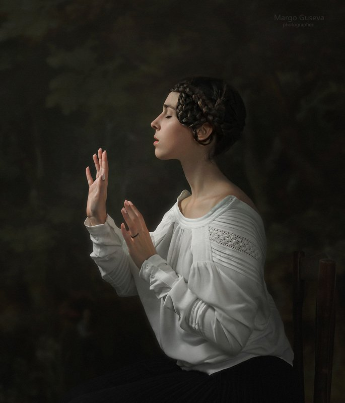 портрет, арт, художественный портрет, Маргарита Гусева, Margarita Guseva photo preview