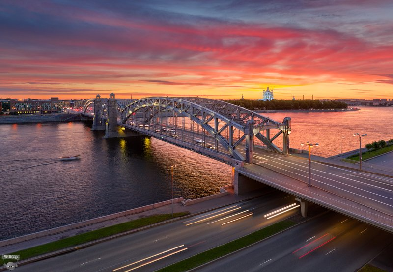 Большеохтинский мостphoto preview