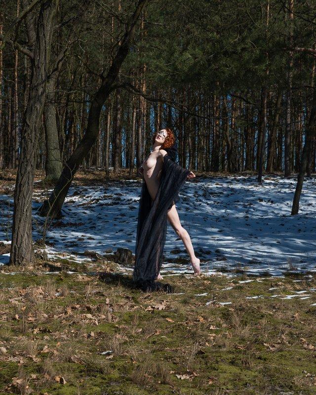 girl, woman, арт, женщина, nude, ню, девушка, модель, model, art A Dream of Spring | Мечта о Bеснеphoto preview