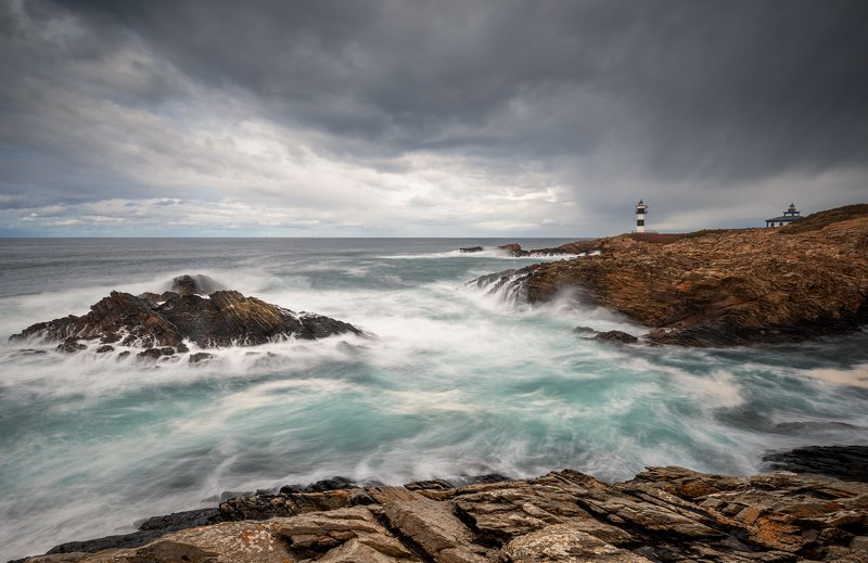 Faro de Ribadeo. Faro de Ribadeo.photo preview