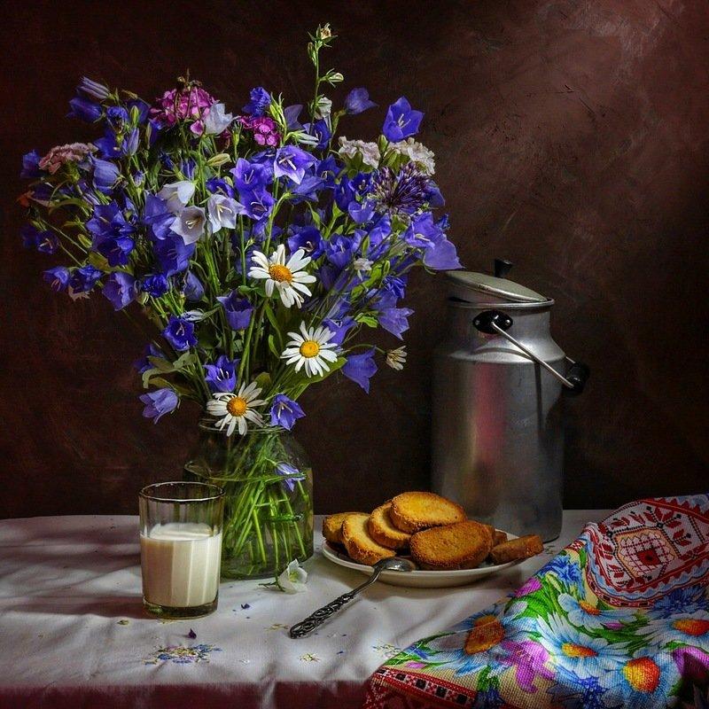 натюрморт, колокольчики,цветы, Колокольчики мои - цветики степные...photo preview