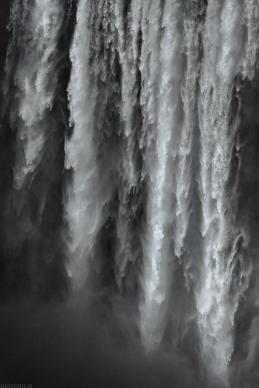 iceland, landscape, travel, nature, water, waterfall, пейзаж, путешествие, исландия, природа, водопад Waterfall. ICELANDphoto preview