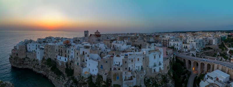 apulia, puglia, italy, summer, medieval town, rocks, sea Polignano a Marephoto preview