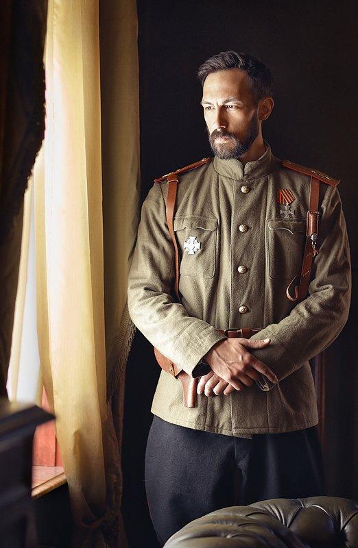 портрет, мужской портрет, исторический костюм. реконструкция, мундир, военная форма, мужчина, царь, история \