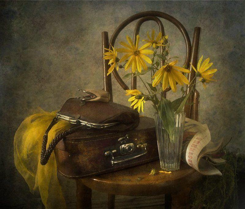 дача,чемодан,цветы, сумка С дачиphoto preview