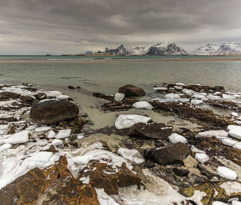 берег, море, путешествие, пейзаж, landscape, norway Северные берегаphoto preview