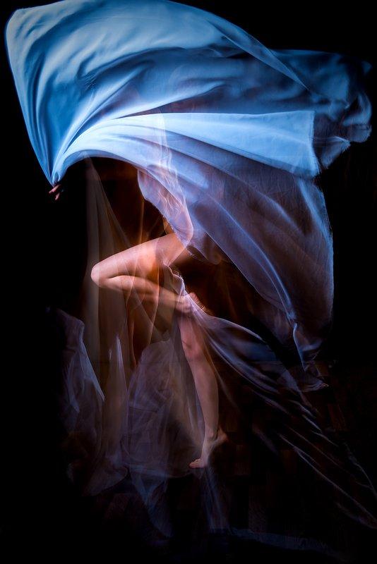 ткань, движение, полет, ведьма Witchphoto preview